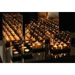Reflection Waxinelichthouder triple goud - &klevering