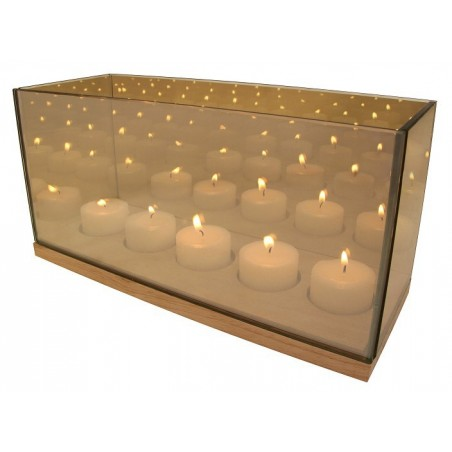 Reflection Waxinelichthouder cinq goud - &klevering