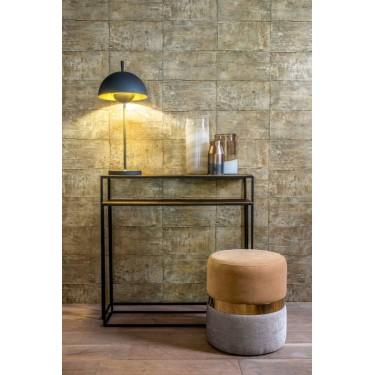 Console tafel set van 2 brons - Dôme Deco