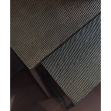 Console tafel set van 2 brons 130cm - Dôme Deco