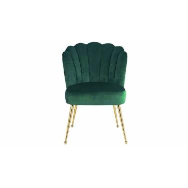 Pippa stoel groen velvet - Richmond