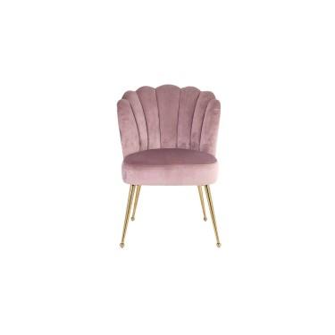 Pippa stoel roze velvet - Richmond