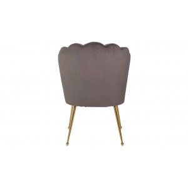 Pippa stoel stone velvet - Richmond