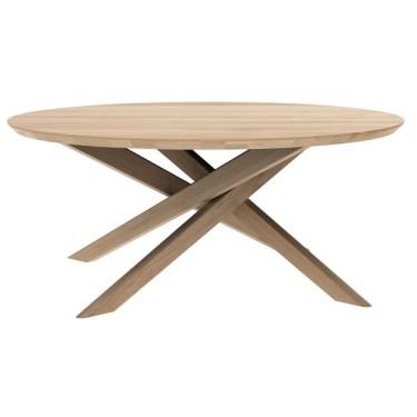 Mikado salontafel rond eiken - Ethnicraft