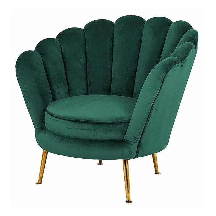 Perla fauteuil groen velvet - Richmond