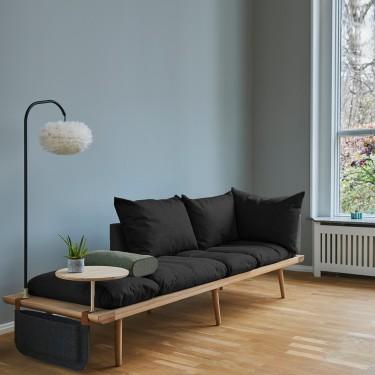 Lounge Around 3zits bank donkergrijs - Umage