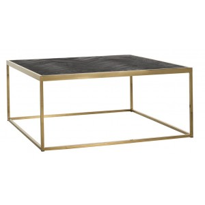 Blackbone salontafel goud 90x90cm - Richmond