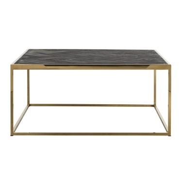 Blackbone salontafel goud 90x90cm - Richmond
