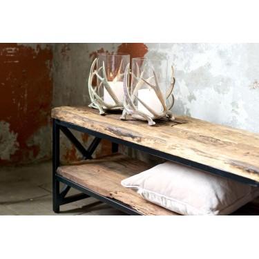 Kensington TV meubel Industrial 2 planken - Richmond