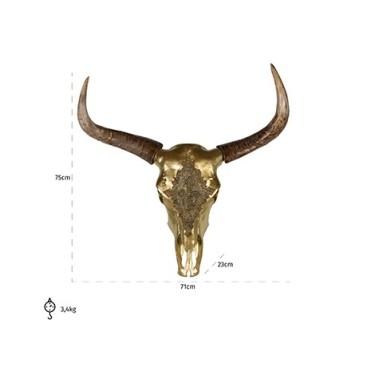 Bison head Jaylee goud - Richmond