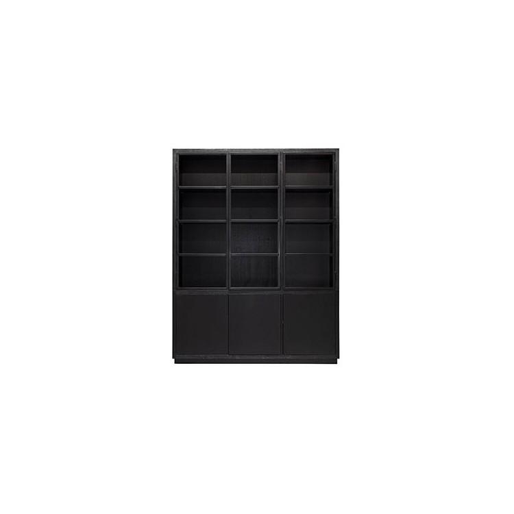 Oakura Buffetkast 2x3-deuren zwart - Richmond