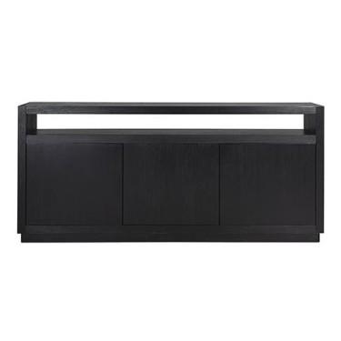 Oakura dressoir 3deurs zwart - Richmond