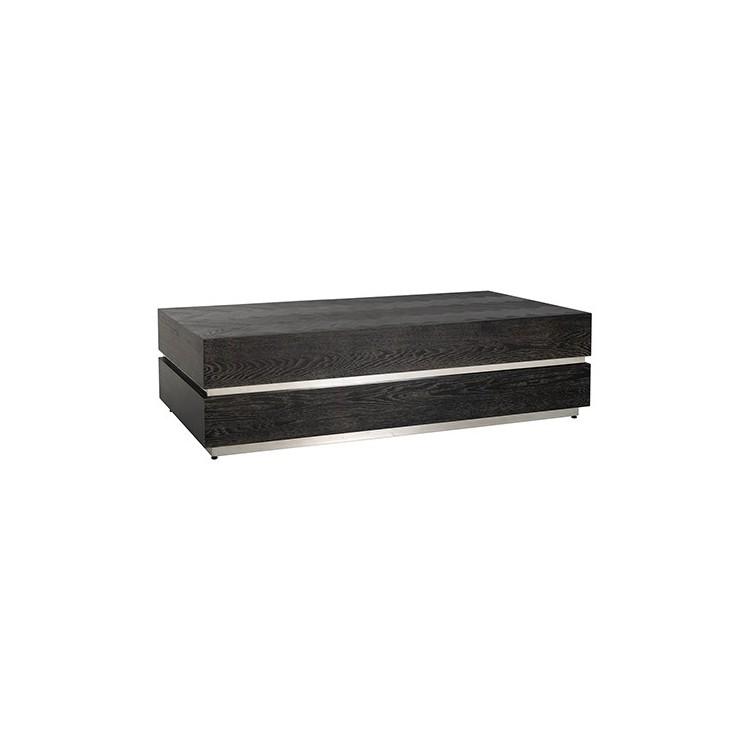 Blackbone salontafel block zilver 150x80cm - Richmond