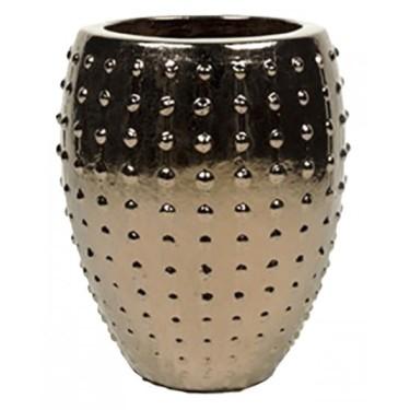 Pukk pot goud H67 - Pot & Vaas