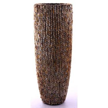 Rough shell schelpenpot 152H - Pot & Vaas