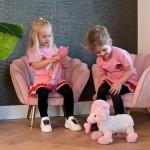 Charly kinderstoel roze - Richmond