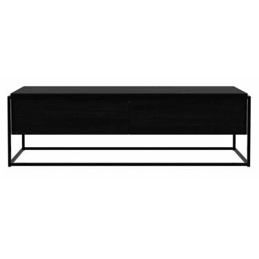 Monolit TV meubel zwart - Ethnicraft