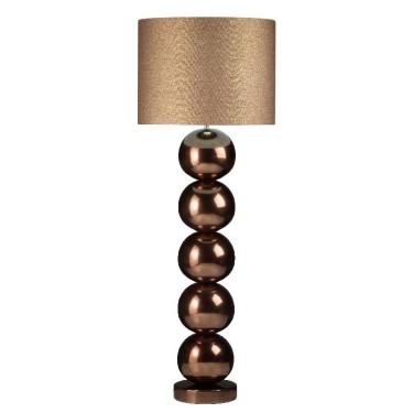 Milano bol vloerlamp golden brons - Stout Verlichting