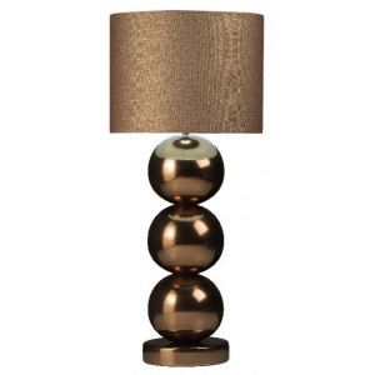 Milano bol tafellamp golden brons - Stout Verlichting