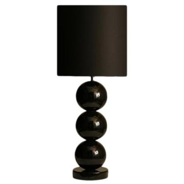 Milano bol tafellamp zwart - Stout Verlichting