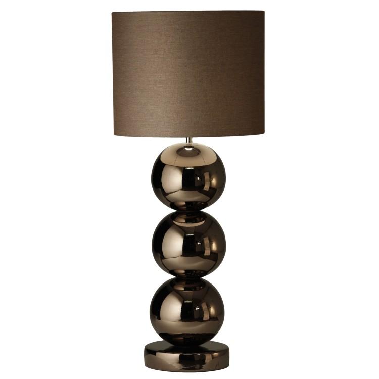 Milano bol tafellamp rosé brons glans - Stout Verlichting
