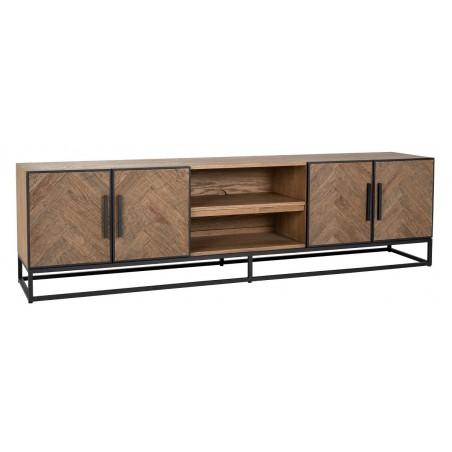 Herringbone TV-meubel 4-deurs - Richmond