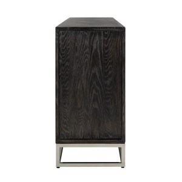 Blackbone Zilver 4deurs dressoir  - Richmond
