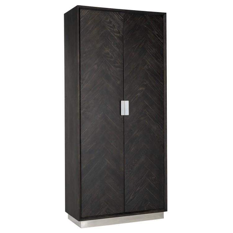 Blackbone Zilver Wandkast hoog - Richmond
