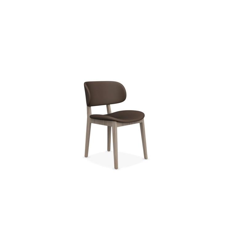 2Claire stoel leer - Calligaris