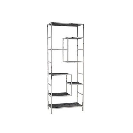 Blackbone Zilver Wandkast 7 planken - Richmond