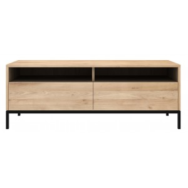 Ligna Tv meubel 140cm zwart - Ethnicraft