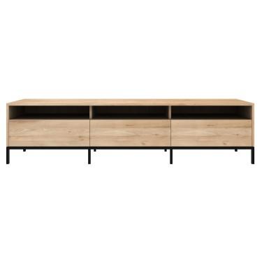 Ligna Tv meubel 210cm zwart - Ethnicraft