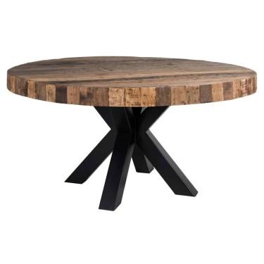Bodhi Eettafel rond 160cm zwart - Richmond