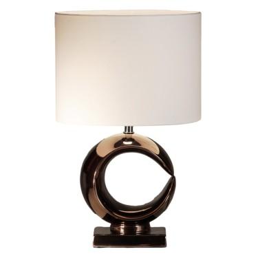 Luna tafellamp enkel brons - Stout Verlichting