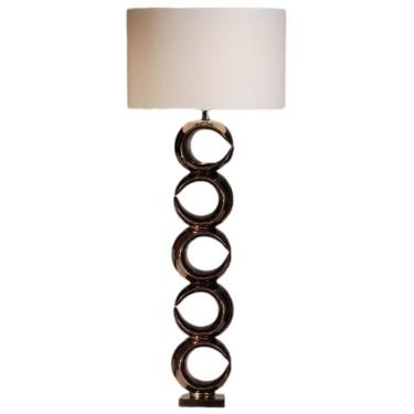Luna Vloerlamp brons - Stout Verlichting