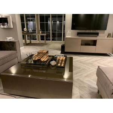 Salontafel blok hoogglans 80x80 - Puuur Interiors