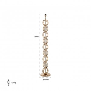 Adyson floor lamp gold -...