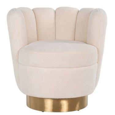 Mayfair fauteuil faux sheep - Richmond