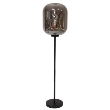 Vloerlamp Glass Marble Base M - Dôme Deco