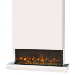 Disegno 3D LED fireplace -...
