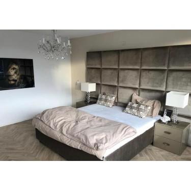Luxusbett King mit Kopfteil 290 cm - Concept Living