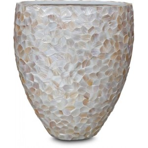 Mother of Pearl shell jar...