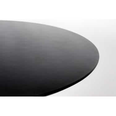 Pilar Tisch rund schwarz -...