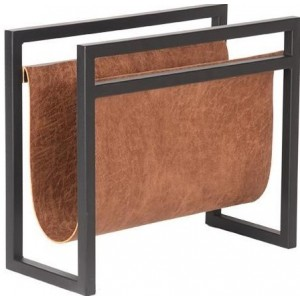 Magazine holder cognac -...