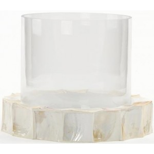 Candle white candle holder...