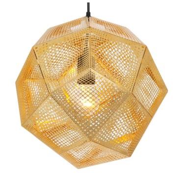 Etch Shade hanging lamp - Tom Dixon
