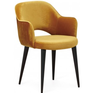 Giovanna chair ochre -...