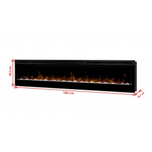 Prism 74 electric fireplace...