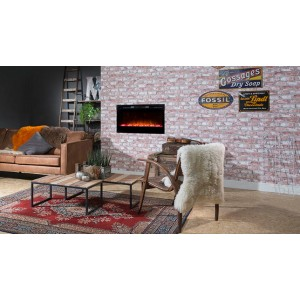 Prism 34 electric fireplace...