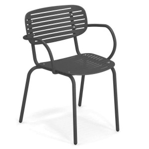 Mom garden chair with armrests - Emu